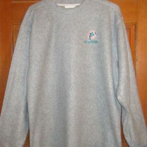 Miami Dolphins Mens Fleece sweater